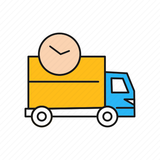 Delivery, fast, sdelivery, time, truck icon - Download on Iconfinder
