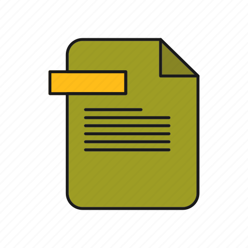 Document, file, format icon - Download on Iconfinder