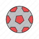 ball, foot, football, sport icon