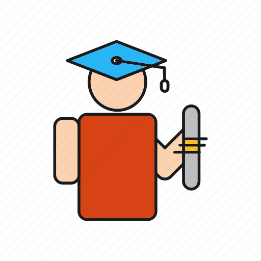 Education, graduate, graduation icon - Download on Iconfinder