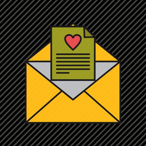 Love, message, valentine icon - Download on Iconfinder