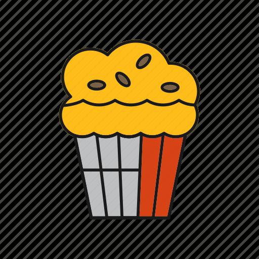 Cake, dessert, muffin icon - Download on Iconfinder