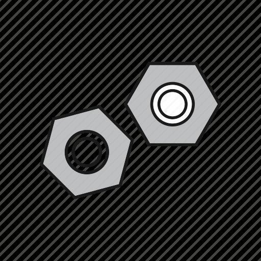 internal, nut, screw icon