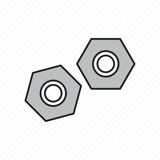 Internal, nut, screw icon - Download on Iconfinder