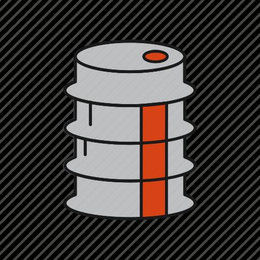 Barrel, fuel, oil icon - Download on Iconfinder