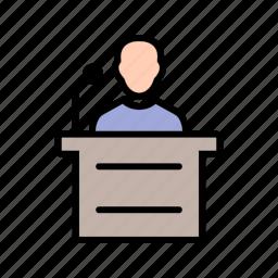 people, speak, speech, user icon