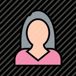 avatar, businesswomen, female, women icon
