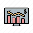 analytics, business, business chart, graph, statistics icon