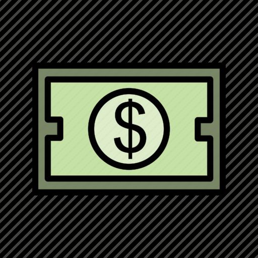 cash, dollar, investment, money icon