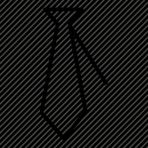 business, suit, tie icon