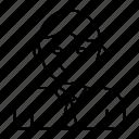 avatar, user, tie