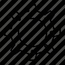 cogwheel, setting, configuration
