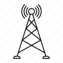 signal, tower, antenna