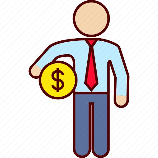 administration, business, dollar, money icon