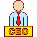 boss, ceo, executive icon