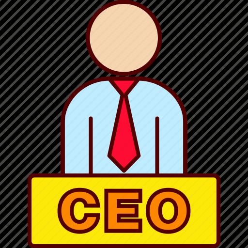 boss, ceo, executive icon