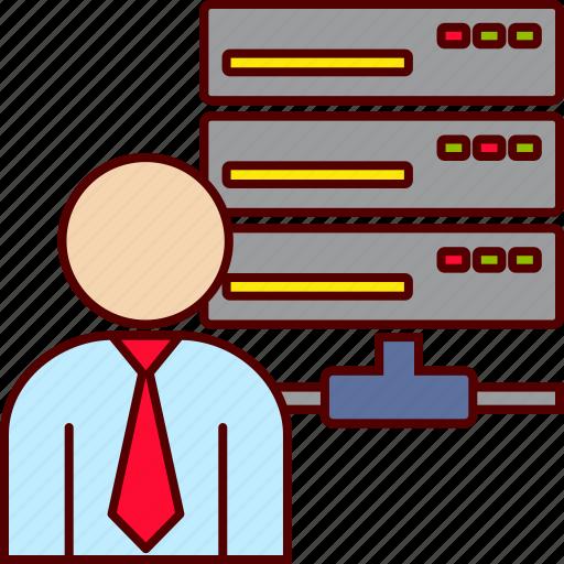 database, executive icon