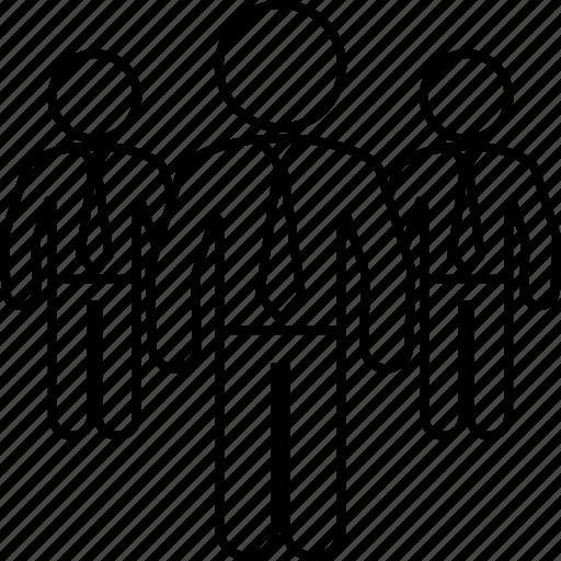 business, executives, man, men, team icon