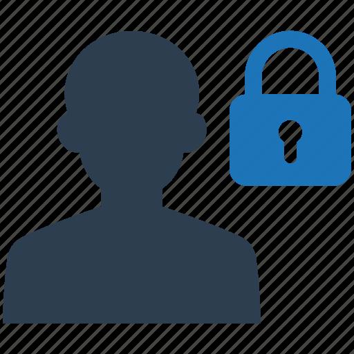 account, lock, private, secure, user icon