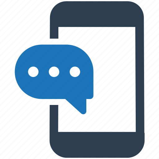 chat, conversation, mobile, support icon