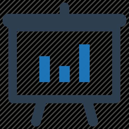 Analysis, bar chart, blackboard, statistics icon - Download on Iconfinder