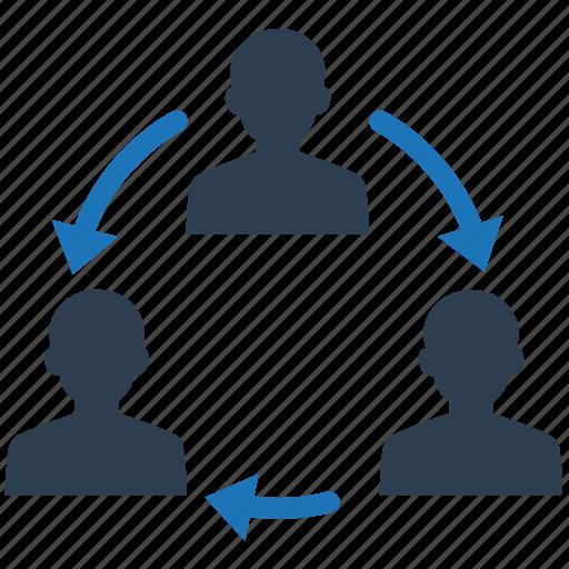 communication, team, teamwork, users icon