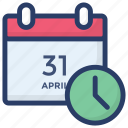 appointment, calendar, deadline, meeting, plan, schedule, yearbook icon