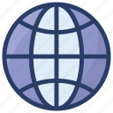 browser, earth, globe, international, planet, www icon