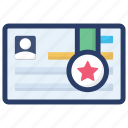 certification, deed, degree, diploma, employee certificate icon