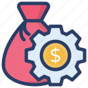 budget forecasting, finance management, financial management, financial planning, save money icon