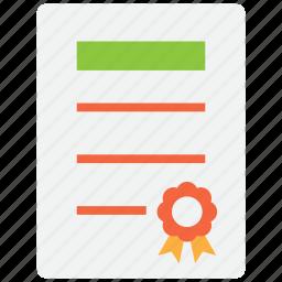 achievement, award, badge, commendation, winner icon