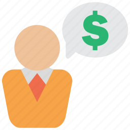 business, cash, currency, deal, discussion, finance icon