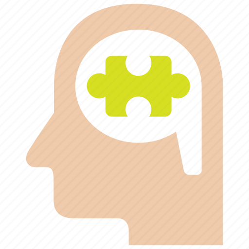brain, idea, logical, puzzle, thinking, thought, thoughts icon
