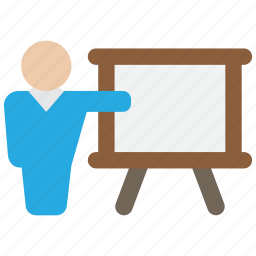 conference, presentation, training icon