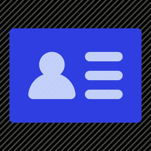 business, card, client, management icon