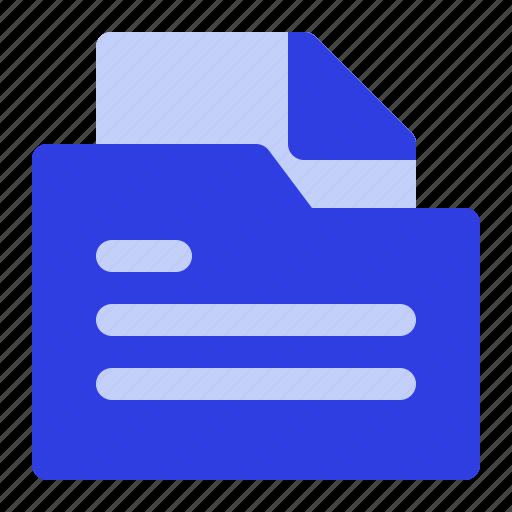 business, document, folder, management icon
