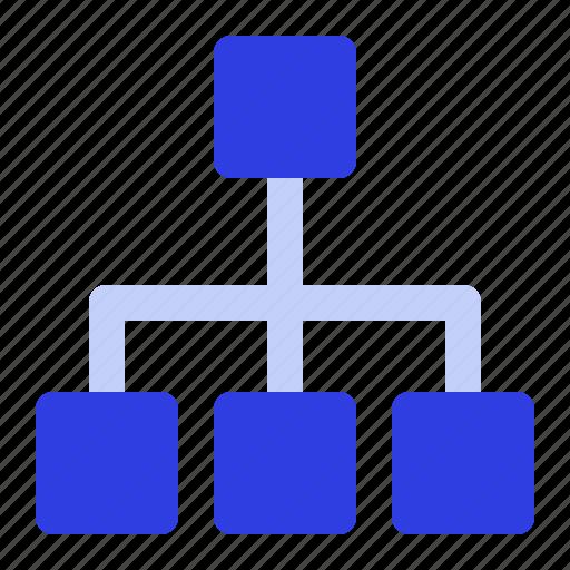 business, management, organization, team icon