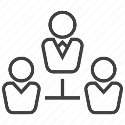 business, employee, hierarchy, leader, manager, structure, team icon