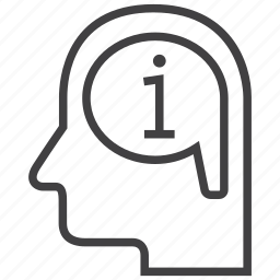 create, data, help, idea, info, information icon