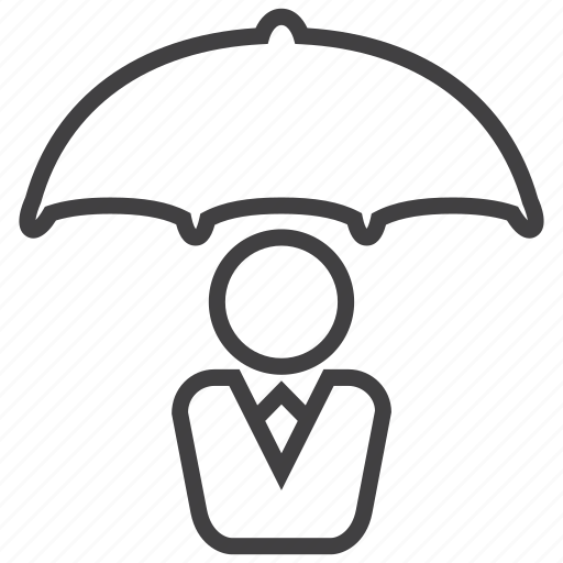 cover, insurance, protection, safety, umbrella, weather icon