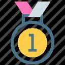appreciation, award, experience, medal, prize, success, victory icon