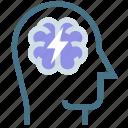 brain, brainstorming, business, education, idea, marketing, neurology icon