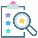 analysis, appraisal, assessment, check, evaluation, judgement, rating icon