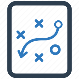 management, path, plan, planning, strategy, tactics, way icon