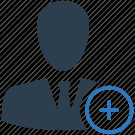 account, add, create, new, plus, profile, user icon
