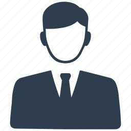 avatar, business, businessman, man, office icon
