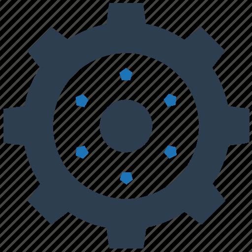 gear, maintenance, service, technical icon