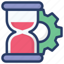 load average, loading, loading process, page loading, time management icon