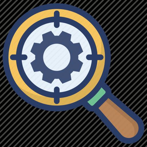 configuration, optimization, preferences, search settings, setup icon