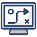 business plan, plan, scheme, strategy, tactics icon